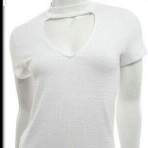 Wilfred jersey knit top sz xs in white